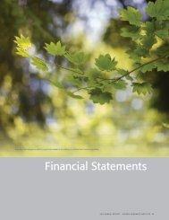 Financial Statements - Ontario Genomics Institute