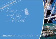 hier einen Blick in die aktuelle Logbuch-Ausgabe - Eye of the Wind