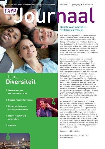 Diversiteit - Innovatief in Werk