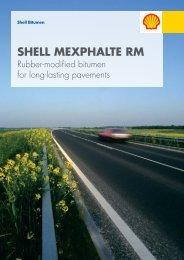Shell Bitumen - Shell Mexphalte RM Brochure