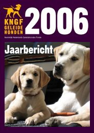 Koninklijk Nederlands Geleidehonden Fonds - KNGF Geleidehonden