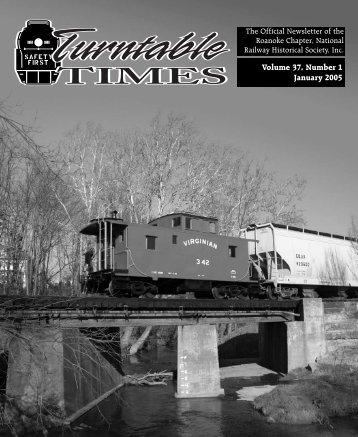 January 2005 - Roanoke Chapter National Railway Historical Society