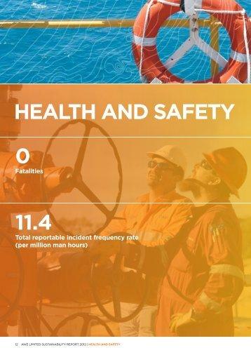 HEALTH AND SAFETY 0 11.4 - AWE