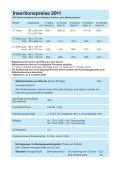 Insertionspreise 2011 - Geomatik Schweiz - Seite 3
