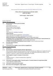 Avviso di gara (.pdf 166 KB ) - Gare di Trenitalia