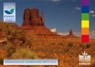 Dichiarazione Ambientale EMAS 2012 - Nord Zinc