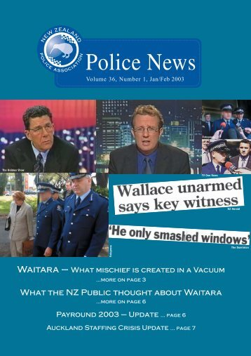 NZPA News Jan 03 - New Zealand Police Association