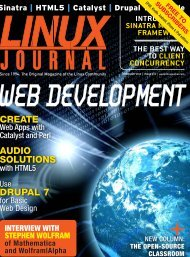 Linux Journal | February 2012 | Issue 214 - ACM Digital Library