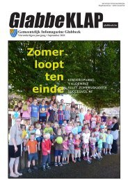 september 2011 - Gemeente glabbeek