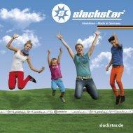Product Catalogue slackstar.de