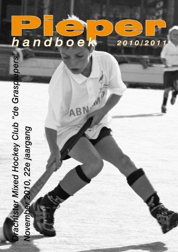 abn amro sponsort jeugdhockey - Graspiepers