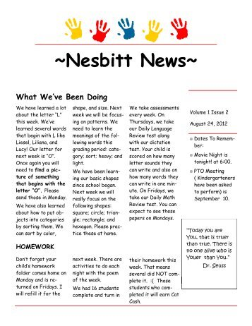 Nesbitt News