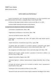 FERRETTI Arch. Fabrizio 00046 Grottaferrata (Rm) - Parco ...