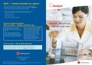 Shell Australia - LubeAnalyst brochure