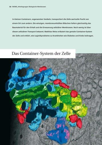 Das Container-System der Zelle - BioQuant