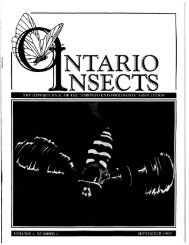 1995 - Toronto Entomologists' Association