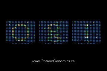 OGI Postcard - Ontario Genomics Institute