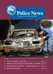 Volume 37, Number 6, July 2004 - New Zealand Police Association