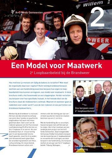 Brochure Een model voor Maatwerk - A+O fonds Gemeenten