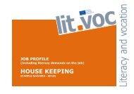 Housekeeping (Spain) (229 kB) - Grundbildung und Beruf