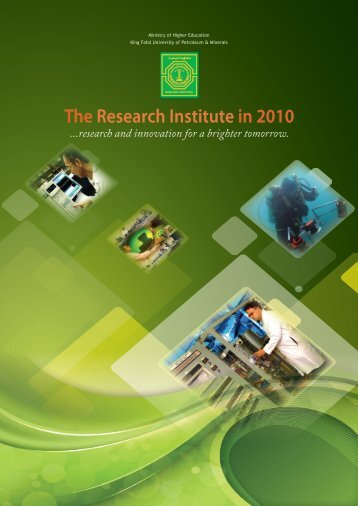 Annual Report 2010 - Research Institute - King Fahd University of ...