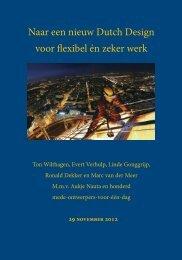 Naar een nieuw Dutch Design voor flexibel én zeker werk - Factor Vijf