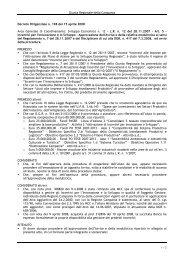 Decreto Dirigenziale 198/2008 - mediocredito centrale - incentivi per ...