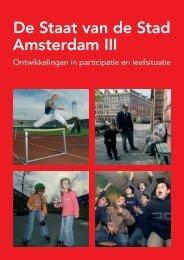 De Staat van de Stad Amsterdam III (25 - Onderzoek en Statistiek ...