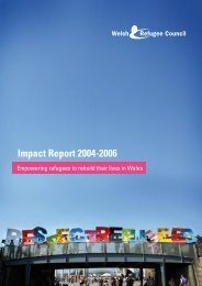WRC Annual Report 2004-2006 - Welsh Refugee Council