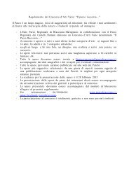 Regolamento - Parco Regionale dei Castelli Romani