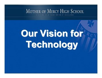 Mercy Open House-no pics - Mother of Mercy High School