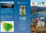 copertina 2 lago tracciati - Parco Regionale dei Castelli Romani