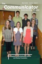 Communicator - Collegiate United Methodist Church and Wesley ...