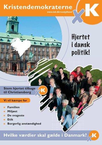 Hjertet i dansk politik! Kristendemokraterne - knudfk.dk