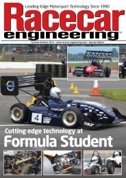 Formula Student Cutting edge technology at - Automotive Group