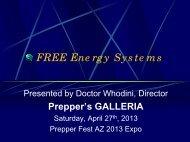 The FREE ENERGY Challenge - Intalek