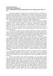 Ks. Maciej Gawlik CR NIEZWYKŁA OSOBOWOŚĆ [w:] ks. Adolf ...