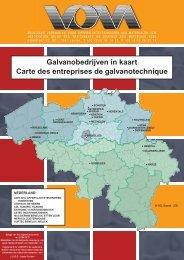 Galvanobedrijven in kaart Carte des entreprises de ... - Vom