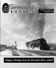 December 2003 - Roanoke Chapter National Railway Historical ...