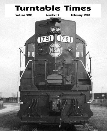 February 1998 - Roanoke Chapter National Railway Historical Society