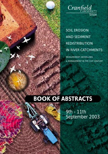 view book of abstracts (pdf) - Lancaster Environment Centre