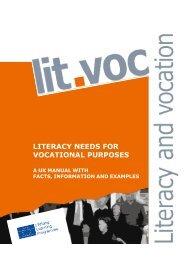 literacy needs for vocational purposes - Grundbildung und Beruf