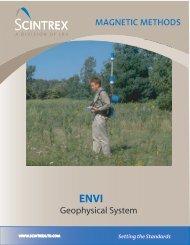ENVI Geophysical System - Scintrex