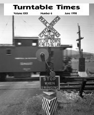 June 98 issue - Roanoke Chapter National Railway Historical Society