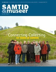 Connecting Collecting - Sveriges Museer