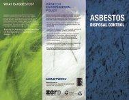 ASBESTOS - Wastech