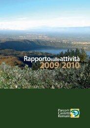 Laghi, boschi e sentieri puliti - Parco Regionale dei Castelli Romani