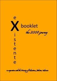 EXISTENTE 07-08 Booklet - Revised Edition - SURFgroepen