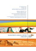 seventeenth annual report 2008/2009 - RDA Murraylands and ... - Page 2