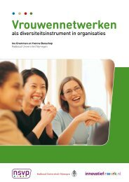 Brochure Effectieve vrouwennetwerken - Innovatief in Werk